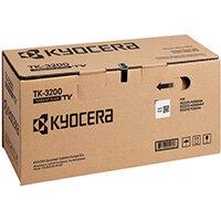 Kyocera TK-3200 Black Toner Cassette TK-3200