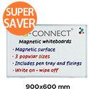 Q-Connect Aluminium Magnetic Whiteboard 900x600mm 9700031
