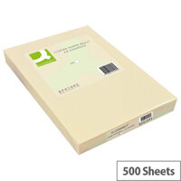 Q-Connect Cream A4 Paper 80gsm Ream of 500 Sheets