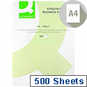 A4 100gsm Laid Antique Vellum Premium Business Paper 500 Sheets Q-Connect