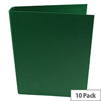 Q-Connect Green A4 2-Ring Polypropylene Binder Pack of 10 KF02004