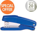 Q-Connect Metal Stapler Half Strip Blue