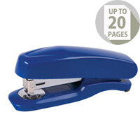 Q-Connect Plastic Stapler Half Strip Blue