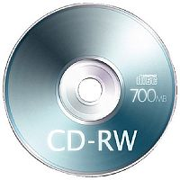 Q-Connect CD-RW Jewel Case 80mins 700MB Pack of 1