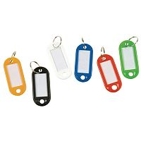 Q-Connect Key Fobs Assorted Pack of 100