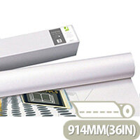 Q-Connect White Plotter Paper 914mmx45m 90gsm (4 Pack) Ref KF15172