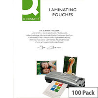 Q-Connect Laminating Pouch A4 Matt 160 microns Pack of 100