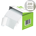 Q-Connect Easi-Peel Address Label Roll (200 Labels)