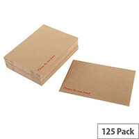 Q-Connect Manilla 394x318mm Peel and Seal Board Back Envelopes 115gsm (125 Pack)