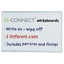 Non-Magnetic Drywipe Board 900x600mm Q-Connect