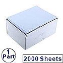 Q-Connect Listing Paper 279 x 370mm 1-Part 60gsm Plain Pack 2000