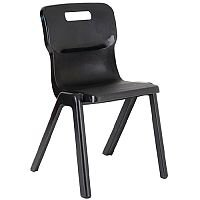 Titan One Piece School Chair Size 2 310mm Charcoal