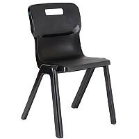 Titan One Piece School Chair Size 6 460mm Charcoal