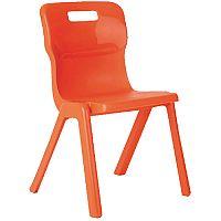 Titan Antibacterial Chair Charcoal H310
