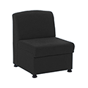 Arista Modular Reception Chair Charcoal KF74203