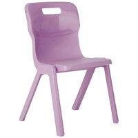 Titan One Piece School Chair Size 2 310mm Purple