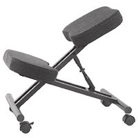 Jemini Kneeling Chair Black KF78705