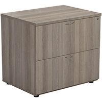 Jemini Grey Oak 2 Drawer Side Filer KF78953