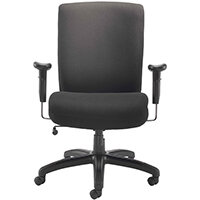 Avior Lomond Heavy Duty Office Chair Black KF79133 - Weight Tolerance 114kg