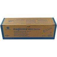 Konica Minolta Magicolor 4650 High Yield Laser Toner Cartridge 8K Yellow A0DK252