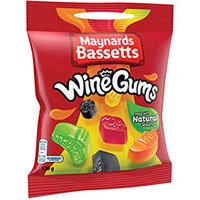 Maynards Bassets Wine Gums Pack of 12 647128