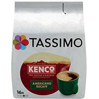 Tassimo Kenco Decaffeinated Coffee Pods Pack of 16 4041303