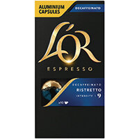 L'Or Nespresso Decaff Ristretto Capsule Pack of 10 4028615