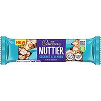 Cadbury Nuttier Coconut Almond 40g Pack of 15 4259100