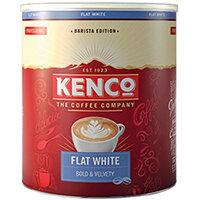 Kenco Flat White Instant Tin 1kg 4070068