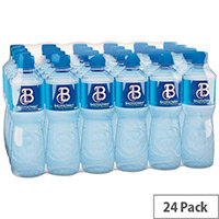 Ballygowan Natural Mineral Still Water, Low in Sodium, Refreshing Taste, 500ml,  Pack of 24 Bottles, LB0007