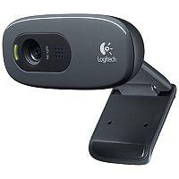 Logitech C270 High Definition Webcam Black 960-000582