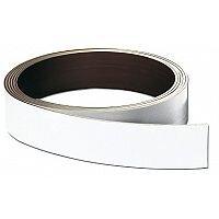 Franken Store Labels Magnetic Strip 15mm x 10m White LS15