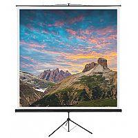 Franken Tripod Projection Screen ValueLine W:2400xH:2400mm Format 1:1 LWST225