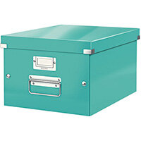 Leitz WOW Click and Store Box Medium Ice Blue 60440051