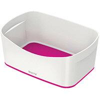 Leitz MyBox Storage Tray White/Pink 52571023 Pack of 4