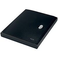 Leitz Box File 100 Percent Recyclable Black Pack of 5 46230095
