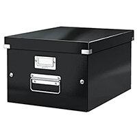 Leitz Box Click & Store WOW Medium Storage Box Black