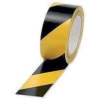 Vinyl Tape Hazard Yellow/Black Pack of 6
