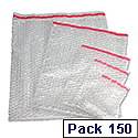 Jiffy Bubble Film Bag Pouches Protective No.5 (Pack of 150) Ref BBAG38105