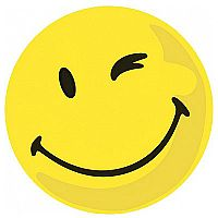 Franken Self-Adhesive Yellow Valuation Positive Expression Symbols Pack of 100 MKS61