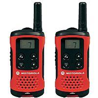Motorola TLKR T40 Walkie Talkies - 2 Way Radio With 4km Range Pack of 2 - Battery level indicator - 500mW Transmit - Keypad lock - LCD display