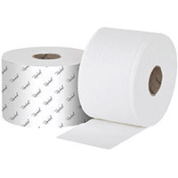 Raphael 1Ply Versatwin Toilet Roll 200m x 90mm Pack of 24 VT1200R