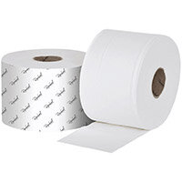 Raphael 2Ply Versatwin Toilet Roll 125m x 90mm Pack of 24 VT2125R
