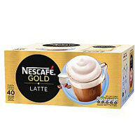 Nescafe Latte Macchiato Instant Coffee Sachets Pack of 40 12130429