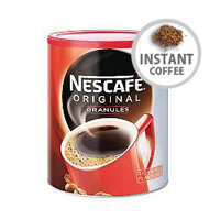Nescafe Original Instant Coffee 750g Granules Tin Case Deal Pack of 6 12283921