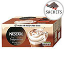 Nescafe Unsweetened Instant Cappucino Sachets Pack of 50 17624
