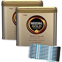 Nescafe Gold Blend 750g Buy 2 Get FOC Pilot Pens Pack of 10