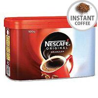 Nescafe Original Instant Coffee Granules Tin 500g Pack of 1 12295139