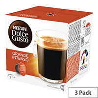 Nescafe Dolce Gusto Grande Intenso Capsules Pack of 48 12208476