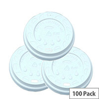 Nupikflo Sip-Through Disposable Lids 9oz/270 [Pack of 100]